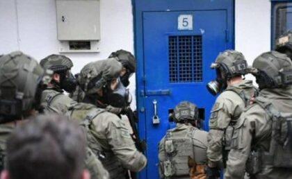 Ofer prison raid (archive image)