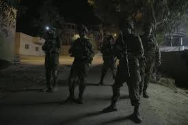 Night Raid by Israeli Forces (archive image)