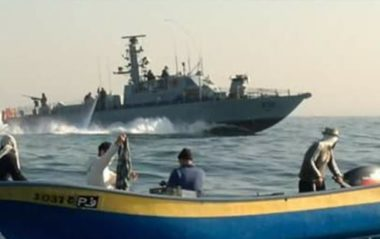 Israeli Navy Opens Fire At Palestinian Fishing Boats In