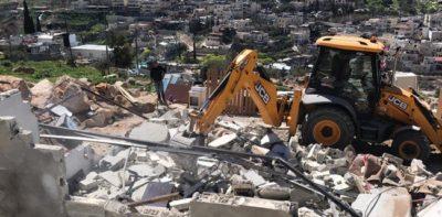 Home demolition (Archive image)
