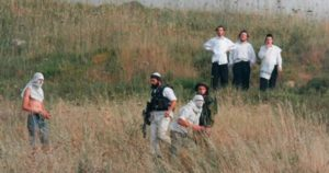 Fifty Israeli Settlers Attack , Injure Palestinian Farmers near Ramallah