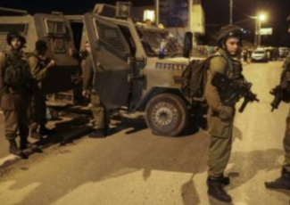 Israeli troops in night raid (archive image)