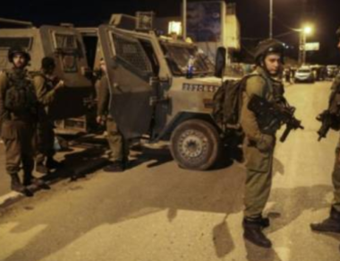 Israeli troops in night raid (archive image)
