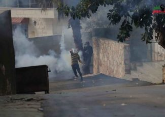 Image from Kufur Qaddoum protest