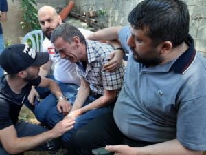 Father of slain Palestinian grieving