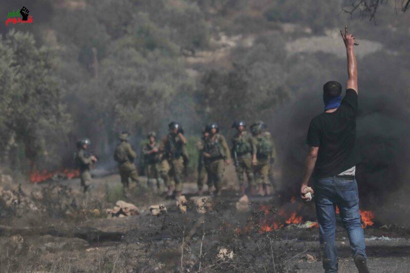 Israeli Soldiers Shoot, Injure 3 Palestinians at Weekly Kufur Qaddoum March – – IMEMC News