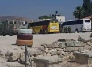 Israeli Soldiers, Colonialist Settlers, Invade Sebastia
