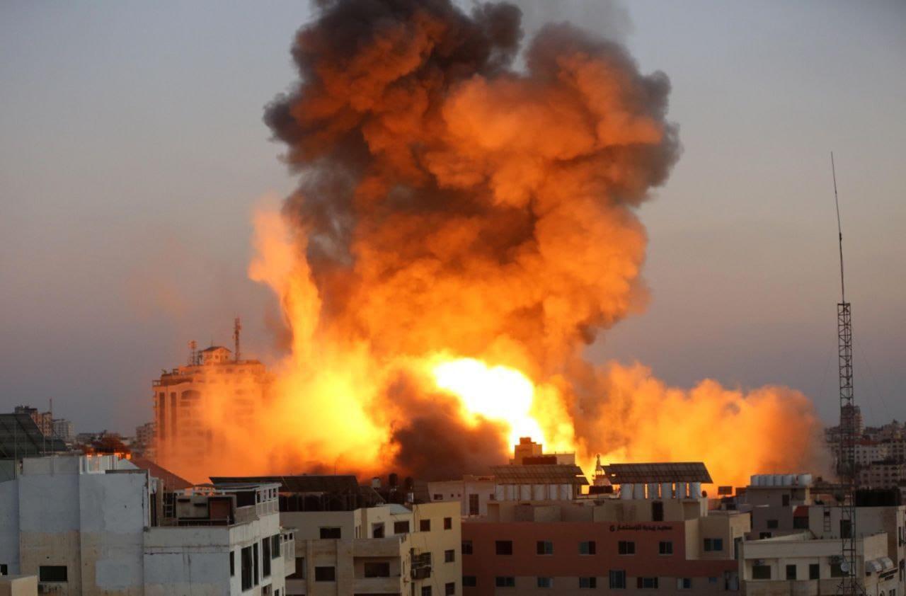 Gaza Friday May 14, 2021 - Image by Aya Isleen