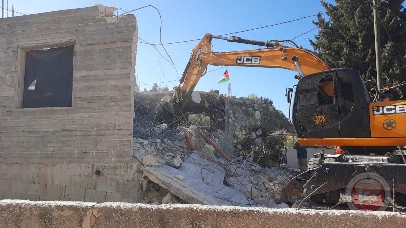 Demolition of Darwish family home