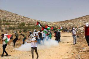 Beita protest - August 26th 2021 - Image by Feras Abu Jaish