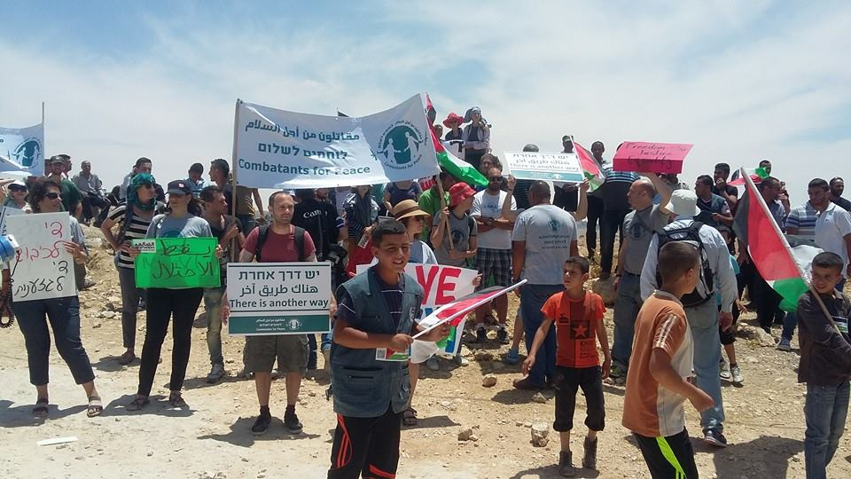 Hundreds marched to save susya on naksa day imemc news Home naksa