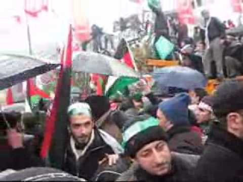 Turkish Protesters Try To Storm Israeli Consulate In Istanbul After